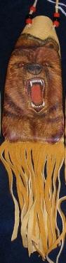 Bear w open mouth - Large - Kyla Allen