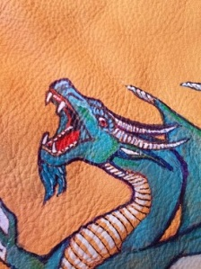 Dragon cell phone pouch